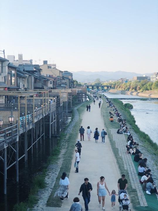 Balade le long de la rivière Kamo